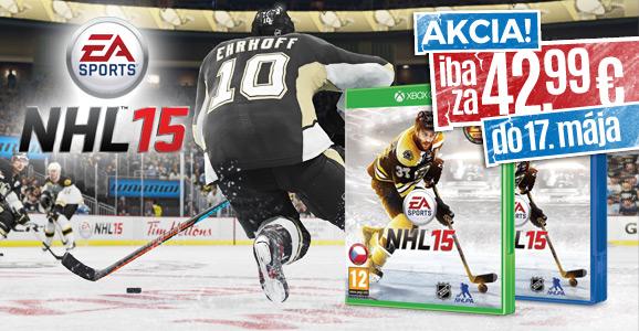 Vojdite aj Vy do centra hokejov�ho diania! NHL 15 za super cenu!
