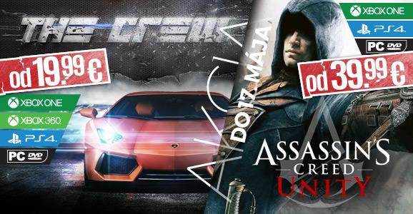 Nepreme�kajte super z�avu na The Crew a Assassin�s Creed: Unity!