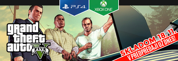Grand Theft Auto 5 (GTA V) na PC, PS4 a XBOX One!