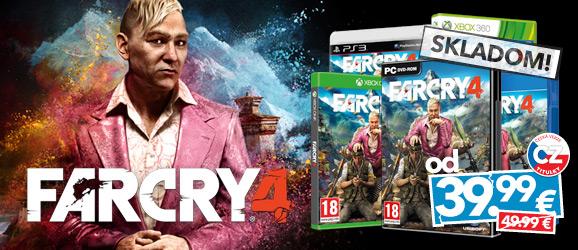 Far Cry 4 je tu!