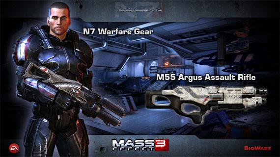 Mass Effect 3 Preorder Bonus
