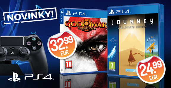 PS4 remasterovan� novinky - God of War 3: Remastered a Journey (Collector�s Edition)!