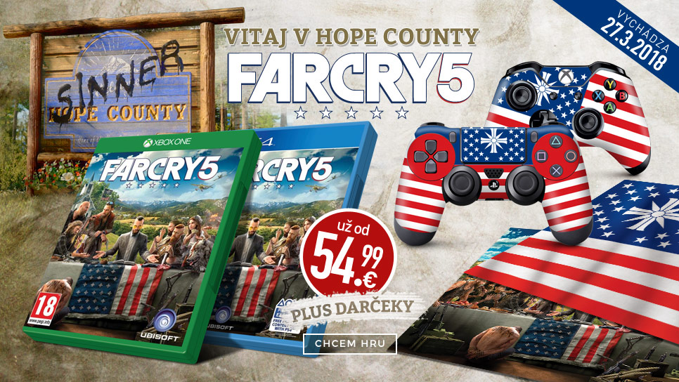 Far Cry 5 so super darčekmi
