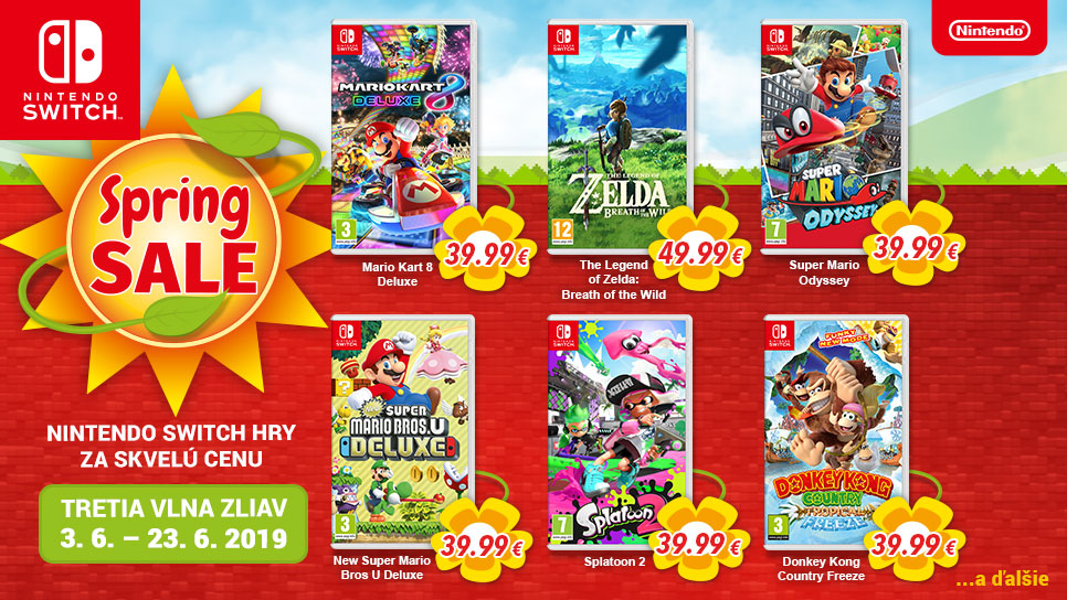 Nintendo Switch Spring Sale