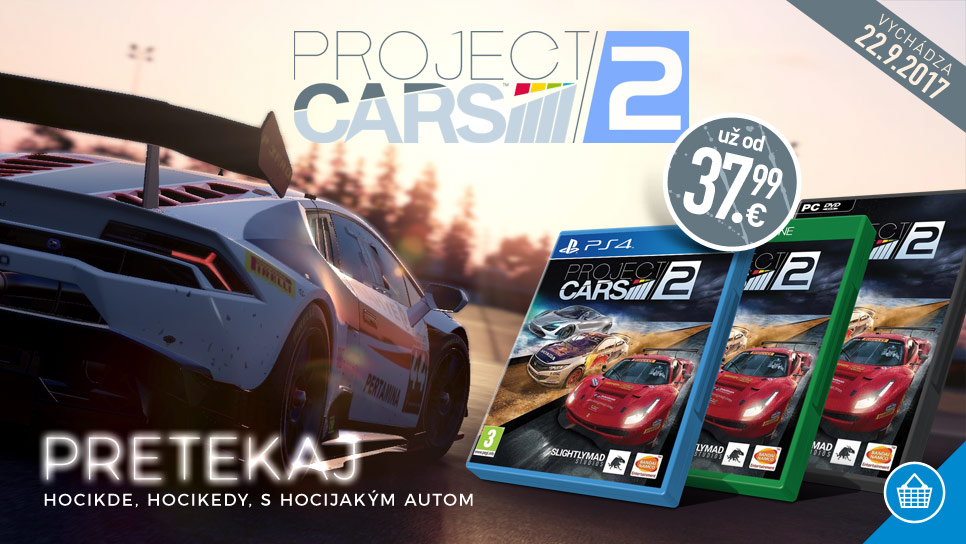 Project Cars 2 už od 37,99 €!