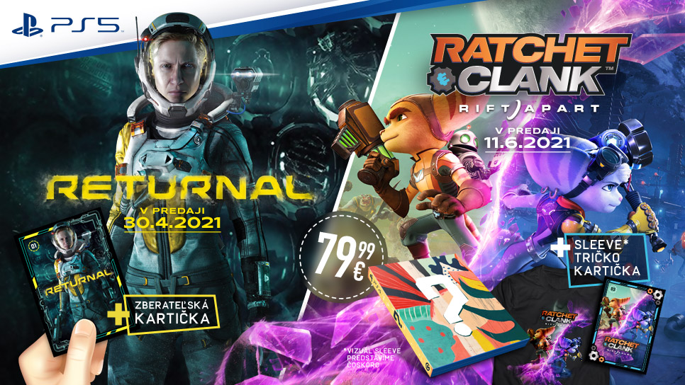 Returnal / Ratchet and Clank Rift Apart