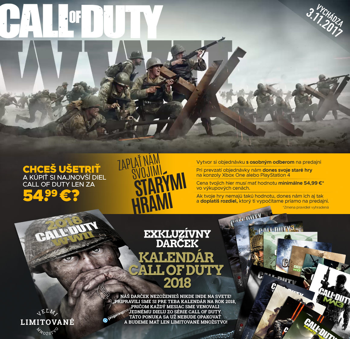 Call Of Duty WWII - banner