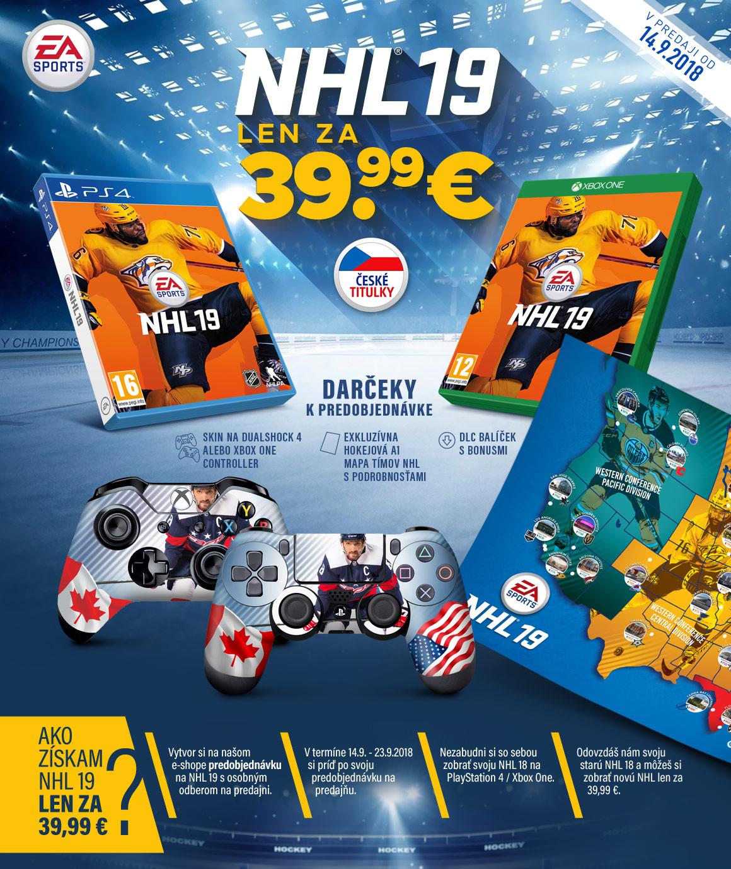 NHL19 - ProGamingShop.sk - profi obchod pre profi hráčov