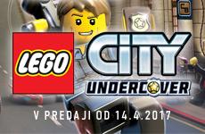 Predobjednávka LEGO City Undercover