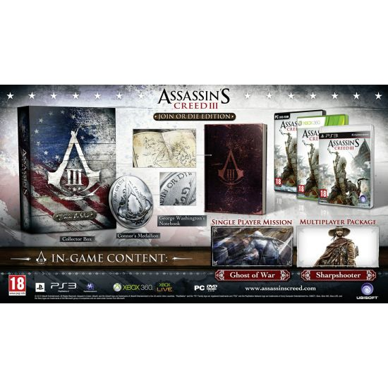 Assassin's Creed 3 (Join or Die Edition)