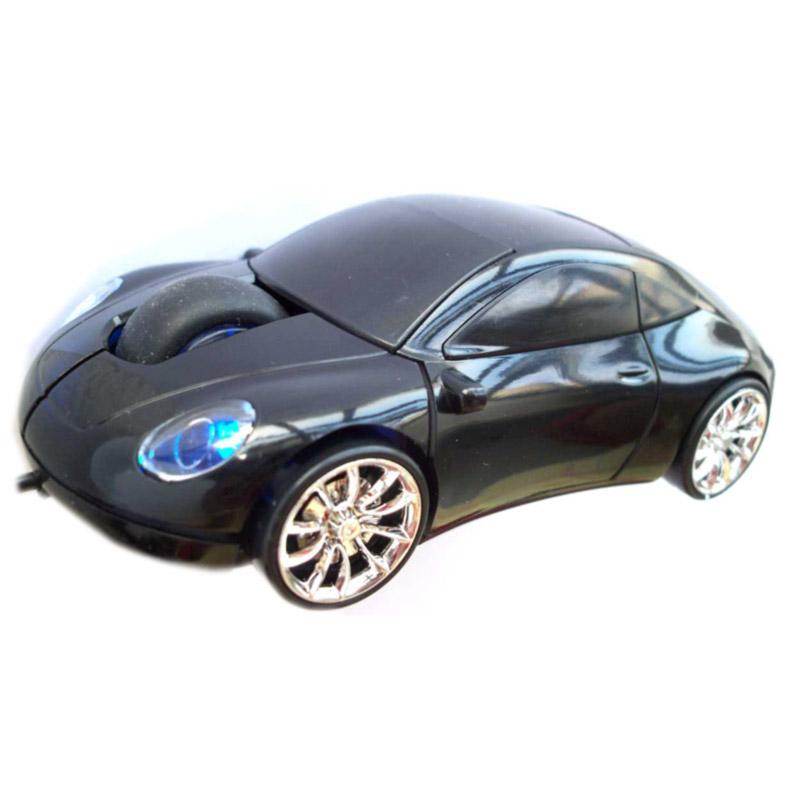 myš v tvare auta