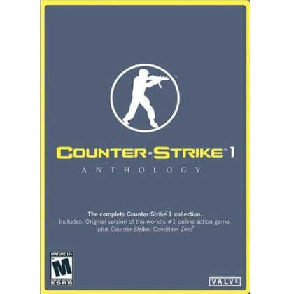 Counter Strike 1.6 Anthology DVD