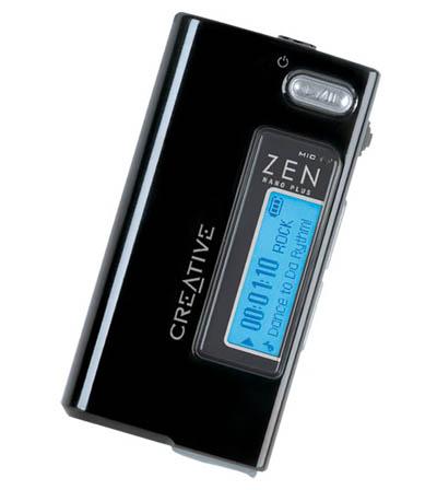 Creative Zen Nano Plus 1GB