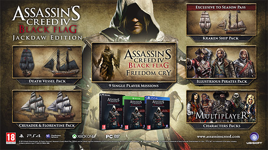 Assassin's Creed IV: Black Flag (Jackdaw Edition)