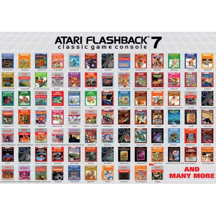 Atari Flashback 7 Classic Game Console (Frogger Edition)