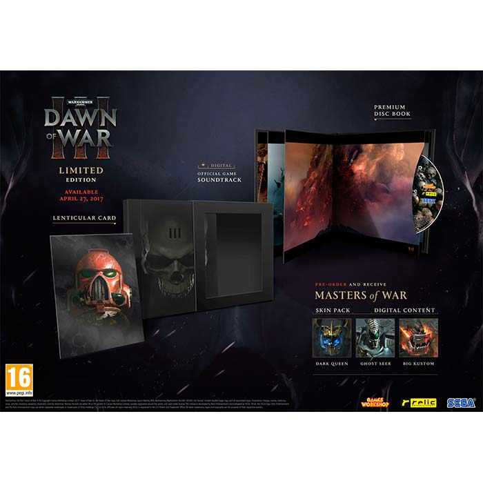 Warhammer 40,000: Dawn of War 3 (Limited Edition)