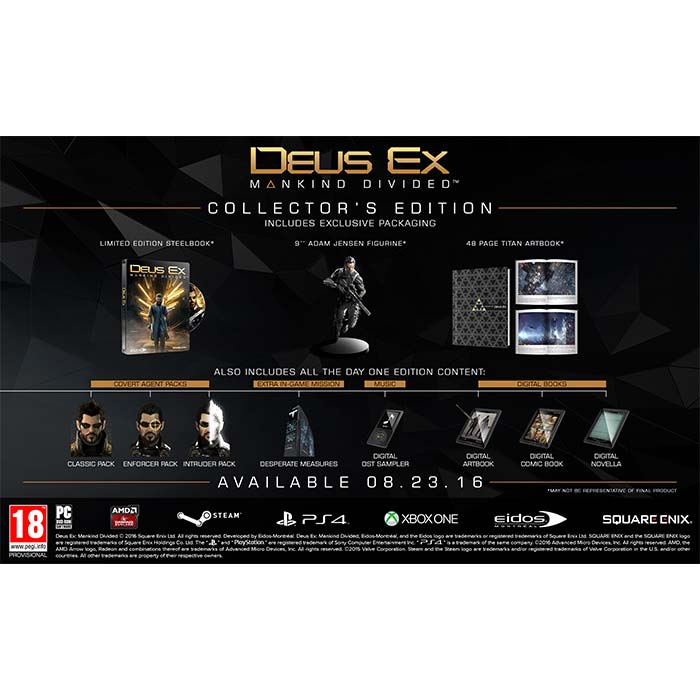 Deus Ex: Mankind Divided (Collector's Edition)