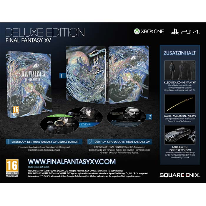 Final Fantasy XV (Deluxe Edition)