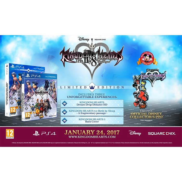 Kingdom Hearts 2.8 Limited