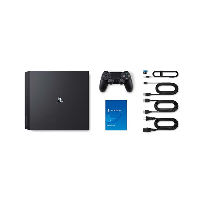 Sony PlayStation 4 Pro, 1TB, jet black