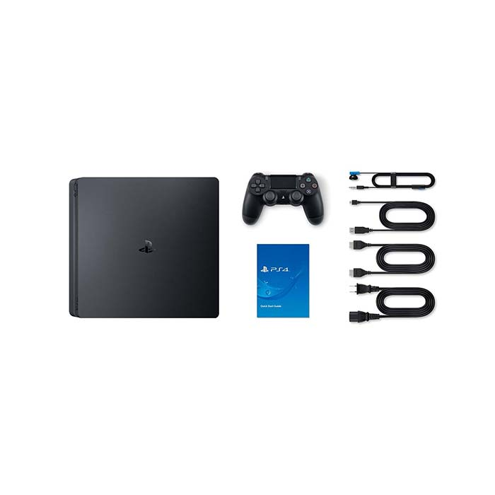 Sony PlayStation 4 Slim, 1TB, jet black