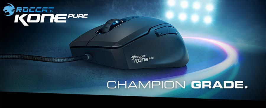 3cc5f6221 Kone Pure Optical Owl-Eye Core Performance RGB Gaming Mouse