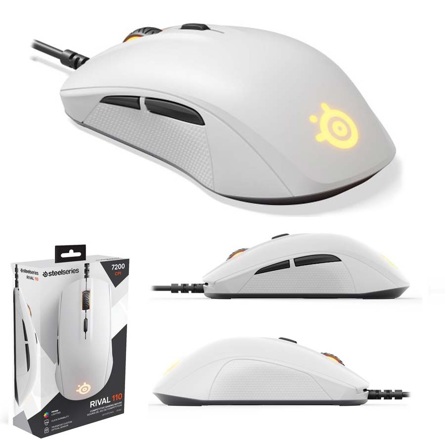 SteelSeries Rival 110, white