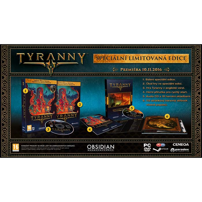 Tyranny (Limited Special Edition)