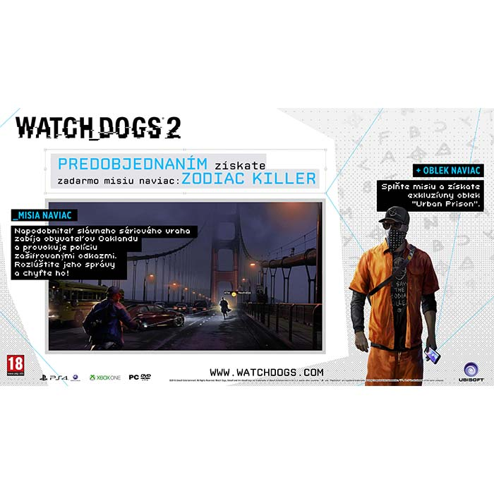 Watch_Dogs 2 CZ Zodiac Killer