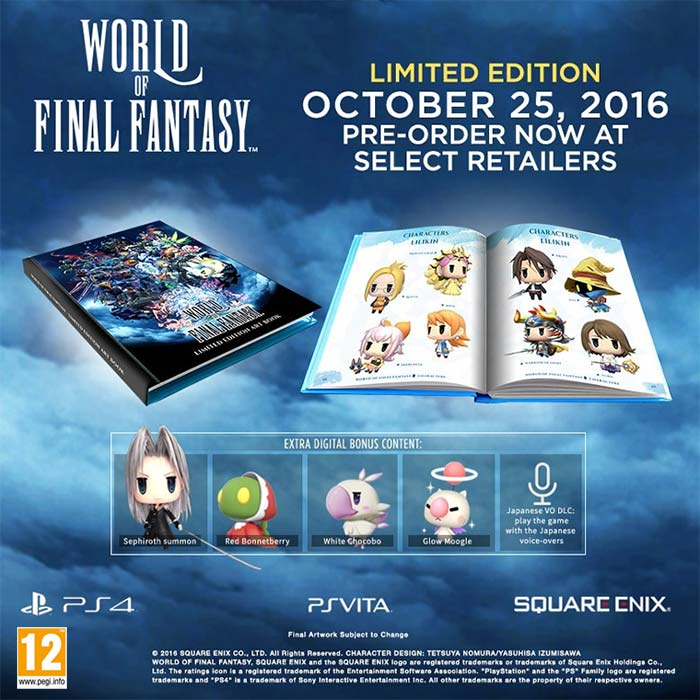 World of Final Fantasy (Limited Edition)