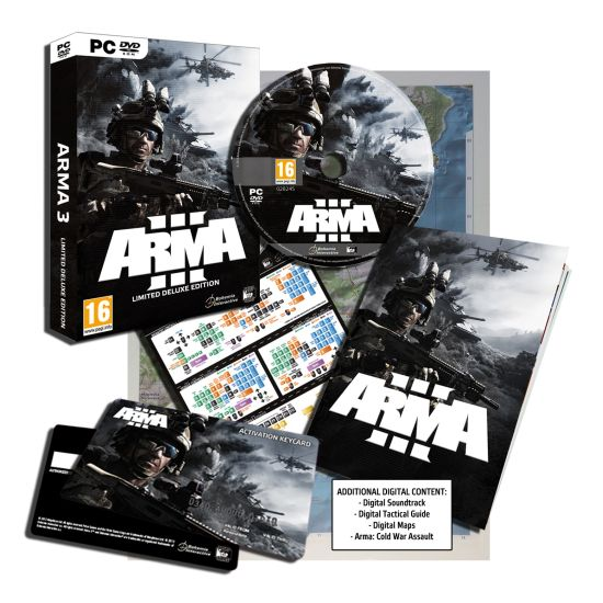 ARMA 3 (Limited Deluxe Edition)