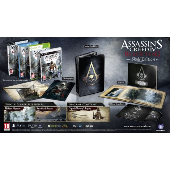 Assassin�s Creed 4: Black Flag CZ (Skull Edition)
