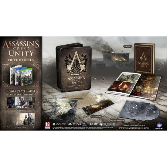 Assassin�s Creed: Unity CZ (Bastille Edition)