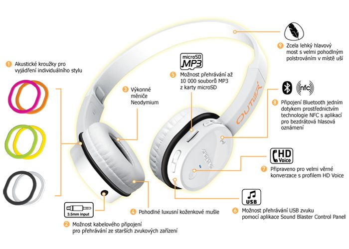 Creative Outlier Bluetooth Headphones