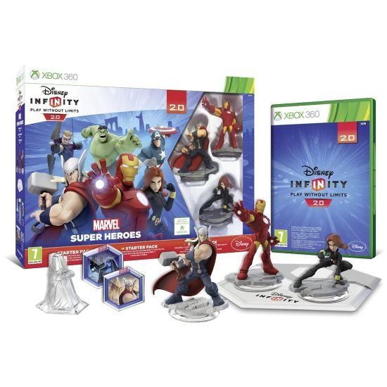 Disney Infinity 2.0: Marvel Super Heroes (Starter Pack)