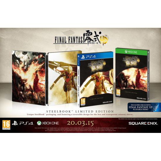 Final Fantasy Type-0 HD (Limited Edition)