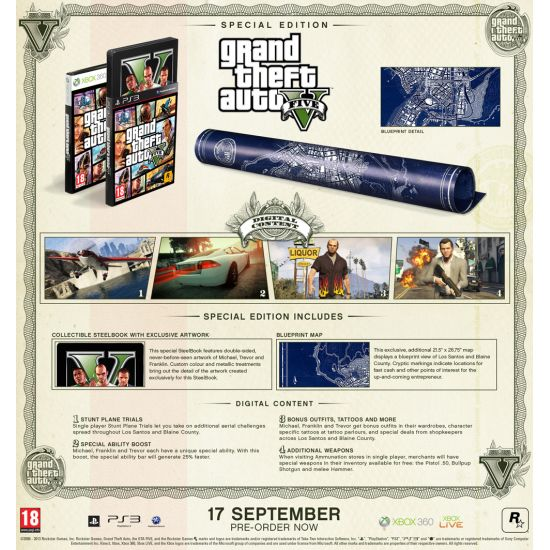 Grand Theft Auto 5 (Special Edition)