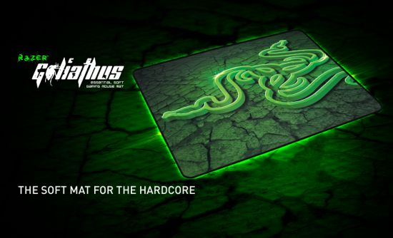 Razer Goliathus Extended Essential Soft Gaming Mouse Mat, control edition