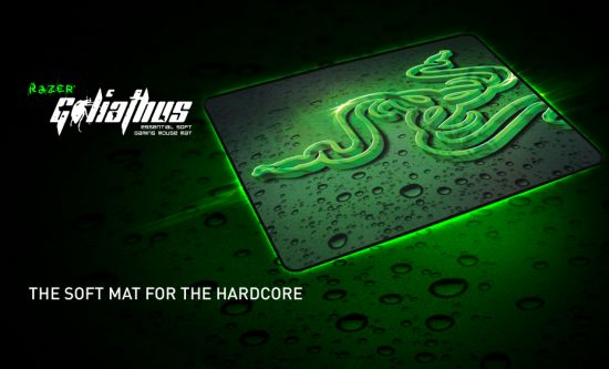 Razer Goliathus Extended Essential Soft Gaming Mouse Mat, speed edition