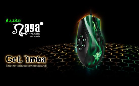 Razer Naga Hex Expert MOBA/Action-RPG Gaming Mouse