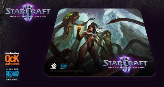 SteelSeries Qck StarCraft 2: Heart of the Swarm (Kerrigan Edition)