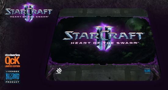 SteelSeries Qck StarCraft 2: Heart of the Swarm (Logo Edition)