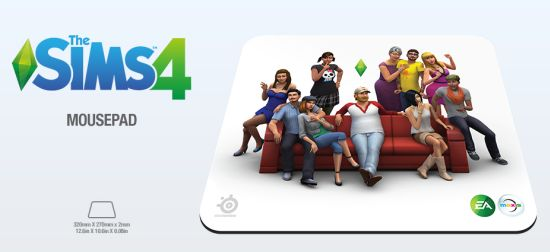 SteelSeries QcK The Sims 4 Edition