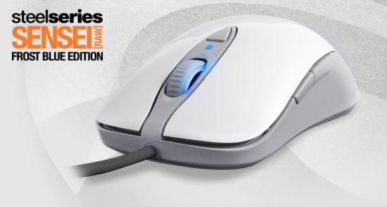 SteelSeries Sensei [RAW] Pro Grade Laser Mouse (Frost Blue Edition)