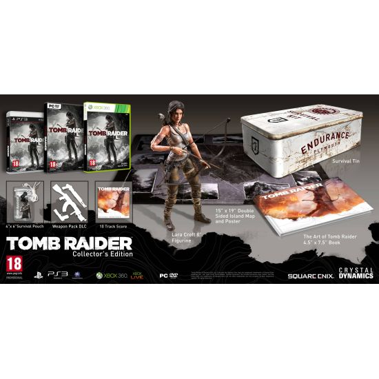 Tomb Raider CZ (Collector's Edition)