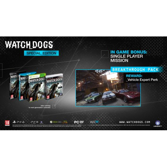 Watch_Dogs (Special Edition) CZ