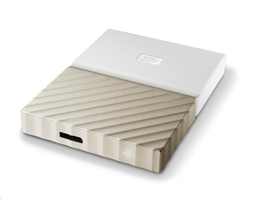 "WD 1TB My Passport ULTRA 2.5"" USB3.0 External White/Gold"