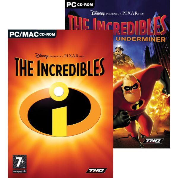 2 in 1 Game Pack: The Incredibles + The Incredibles: Rise of the Underminer