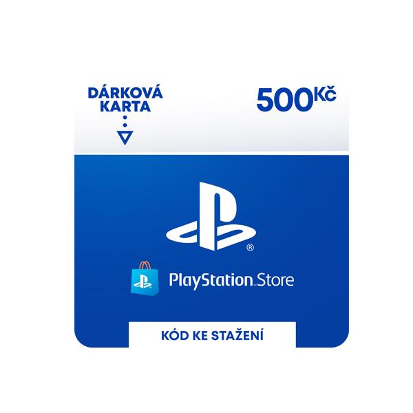PlayStation Store 500 Kč - elektronická peňaženka