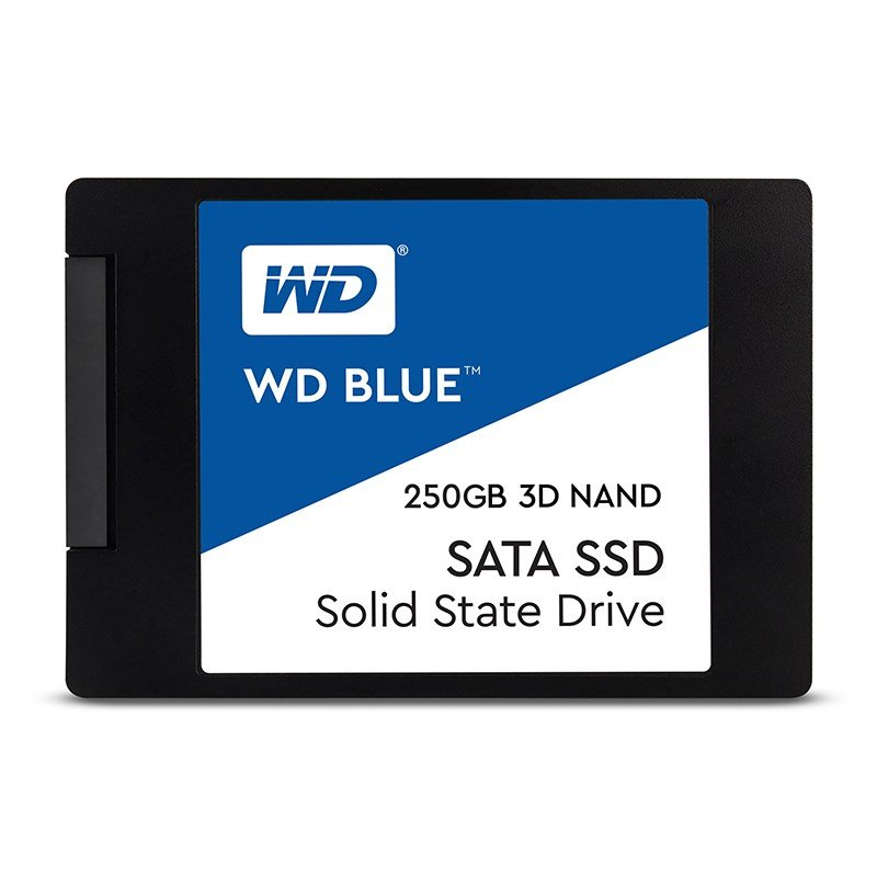 "WD 250GB Blue™ SSD 2,5"" SATA III, 560MB/530MB, 7mm, 3D Nand WDS250G2B0A"